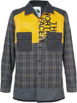Junya Watanabe checked shirt jacket