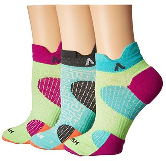 Wigwam Arise 3-Pack (Assortment #1) Women's Crew Cut Socks Shoes