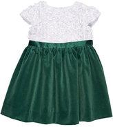 Florence Eiseman Flutter & Sequin Dress w/ Velvet Skirt, Size 2-6X