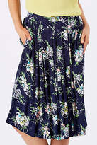Emily And Fin NEW Womens Knee Length Skirts Annie Skirt WildFloral