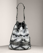 Stella Mccartney Knit Drawstring Bag