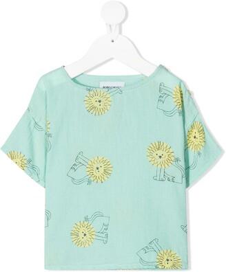 Bobo Choses lion-print T-shirt
