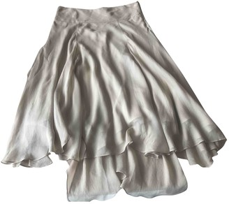 Polo Ralph Lauren Beige Silk Skirt for Women