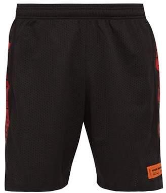 Heron Preston Racing Logo-print Basketball Shorts - Mens - Black