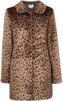 Ruby + Ed Faux Fur Collar Coat