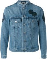Emporio Armani patch denim jacket - men - Cotton - L