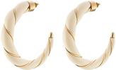 Aurelie Bidermann Diana 18kt Yellow Gold Plated Earrings