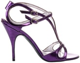 Bruno Frisoni Metallic leather sandal