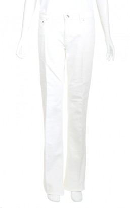 Louis Vuitton \N White Cotton Jeans