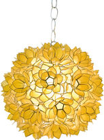 Worlds Away Venus Pendant, Gold