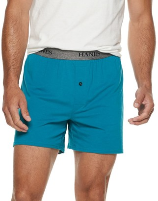 Hanes Men's Ultimate 3-Pack Stretch Knit Boxer
