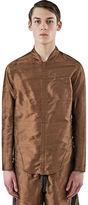 Abasi Rosborough Men's Arc Apres Long Sleeved Shirt In Bronze