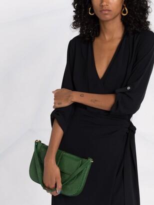 Lauren Ralph Lauren Three-Quarter Sleeve Wrap Dress