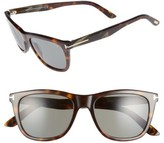 Tom Ford Men's Andrew 54Mm Polarized Sunglasses - Black/ Dark Brown