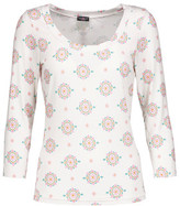 Cosabella Medallion Printed Stretch-Jersey Pajama Top