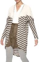 Umgee USA Stripe Crochet Cardigan