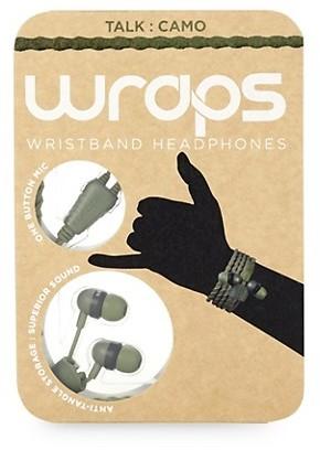 Wraps Talk Wristband Headphones