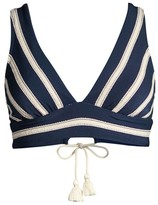 Robin Piccone Abi Striped Bikini Top