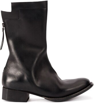 Yohji Yamamoto Mid-Calf Boots