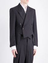Vivienne Westwood Pinstripe double-breasted wool jacket