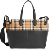 Burberry Vintage Check and Leather Baby Changing Tote