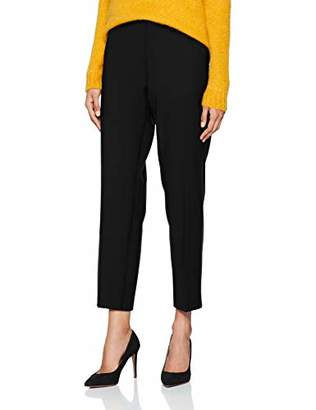 Benetton Women's Trousers Straight Trouser,10 (Manufacturer Size: )