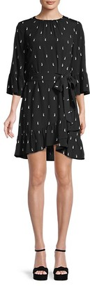 Kate Spade Penguin-Print Sheath Dress