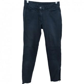 Sandro Grey Cotton - elasthane Jeans for Women