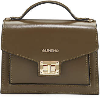 Mario Valentino Valentino By Titti Medium Leather Shoulder Bag