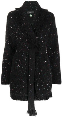 Alanui Starry Night wool cardigan