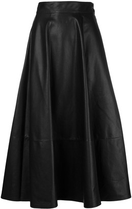 Loewe High Waisted Full Skirt