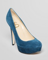 Joan & David Platform Pumps - Nicolette High Heel