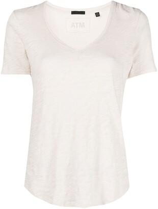 ATM Anthony Thomas Melillo cotton-jersey scoop-neck T-shirt