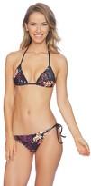 Splendid Electric Bloom Tie Side Bikini Bottom