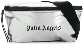 Palm Angels Gothic Logo Belt Bag