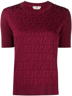 Fendi FF-logo print short-sleeved T-shirt