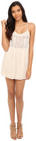 Brigitte Bailey Kataya Embroidered Top with Lace Detail