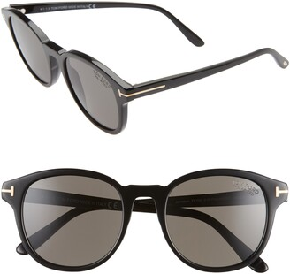 Tom Ford Jameson 55mm Cat Eye Polarized Sunglasses