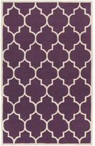Artistic Weavers Transit Purple Geometric Piper Area Rug Rug