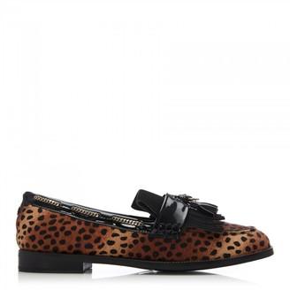 Moda In Pelle Elainie Mini Leopard Textured Animal Print