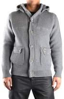 Bark Men's Grey Wool Outerwear Jacket.