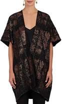 Zero Maria Cornejo Women's Gaban Jacquard Cocoon Coat