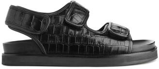 Arket Chunky Leather Sandal