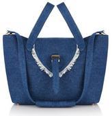 Meli-Melo Thela Medium Tote Bag Blue Denim