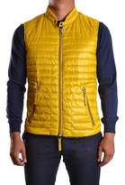Duvetica Men's Yellow Polyamide Vest.
