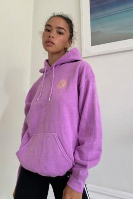 Urban Outfitters Natureza Skate Hoodie - Purple XS at