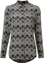 Equipment circular print shirt - women - Silk - XS