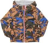 Moncler New Urville Camo Print Nylon Jacket