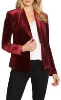1 STATE Women's 1.state Velvet Tuxedo Blazer