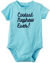 Carter's Baby Boy Slubbed Slogan Bodysuit